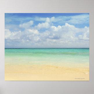 Mexico, Playa Del Carmen, seascape 2 Poster