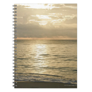 Mexico, Playa Del Carmen, seascape 3 Spiral Notebook