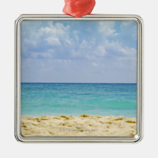 Mexico, Playa Del Carmen, seascape 4 Christmas Ornament