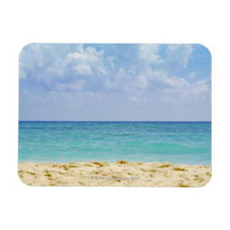 Mexico, Playa Del Carmen, seascape 4 Rectangular Magnet