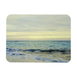 Mexico, Playa Del Carmen, seascape 5 Rectangular Photo Magnet