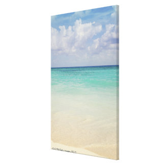 Mexico, Playa Del Carmen, seascape Canvas Print