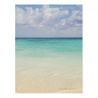 Mexico, Playa Del Carmen, seascape Postcard