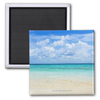 Mexico Playa Del Carmen tropical beach Fridge Magnet