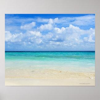 Mexico, Playa Del Carmen, tropical beach Poster