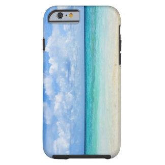 Mexico, Playa Del Carmen, tropical beach Tough iPhone 6 Case