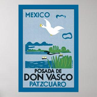 Mexico - Posada de Don Vasco Poster