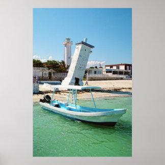 Mexico Puerto Morelos Poster