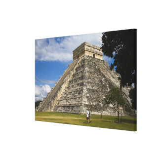 Mexico, Quintana Roo, near Cancun, Chichen 5 Canvas Print