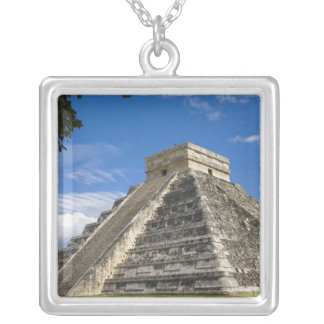 Mexico, Quintana Roo, near Cancun, Chichen 5 Silver Plated Necklace