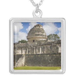 Mexico, Quintana Roo, near Cancun, Silver Plated Necklace
