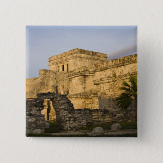 Mexico, Quintana Roo, Yucatan Peninsula, 15 Cm Square Badge