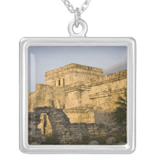 Mexico, Quintana Roo, Yucatan Peninsula, Silver Plated Necklace