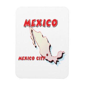 Mexico Rectangular Photo Magnet