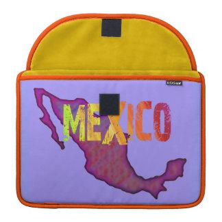 Mexico Rickshaw Flap Sleeve MacBook Pro Sleeve