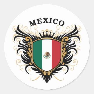 Mexico Round Sticker