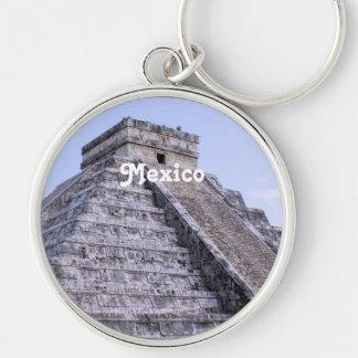 Mexico Ruins Key Chain