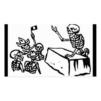 Mexico s Day of the Dead Dia de los Muertos Business Card Templates