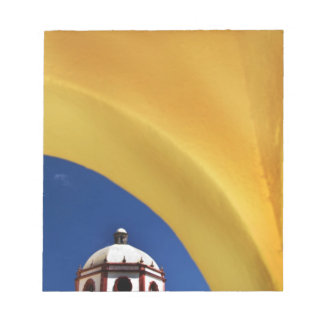 Mexico, San Miguel de Allende. Church framed Notepad