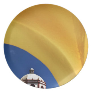 Mexico, San Miguel de Allende. Church framed Plate