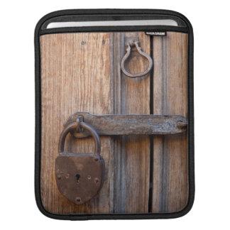 Mexico, San Miguel De Allende. Detail Of A Door iPad Sleeve
