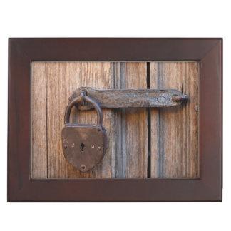 Mexico, San Miguel De Allende. Detail Of A Door Keepsake Box