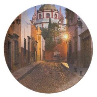 Mexico, San Miguel de Allende. Early morning Party Plate