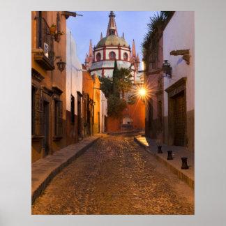Mexico, San Miguel de Allende. Early morning Poster
