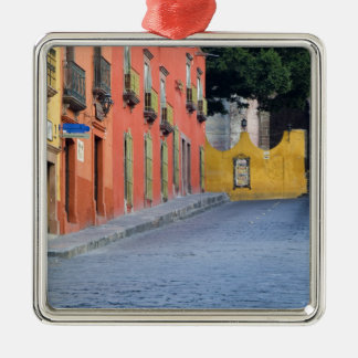 Mexico, San Miguel de Allende, Homes along Christmas Ornament