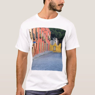 Mexico, San Miguel de Allende, Homes along T-Shirt