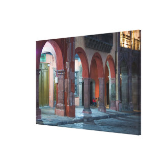 Mexico, San Miguel de Allende, The Jardin, Canvas Print