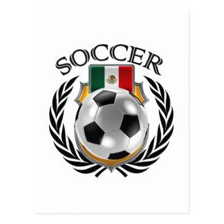 Mexico Soccer 2016 Fan Gear Postcard
