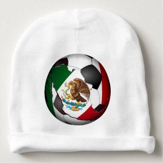 Mexico Soccer Ball Baby Beanie