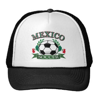 Mexico soccer ball designs hat