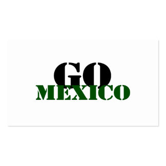 Mexico Soccer Business Card