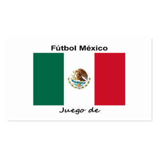 Mexico Soccer Business Cards
