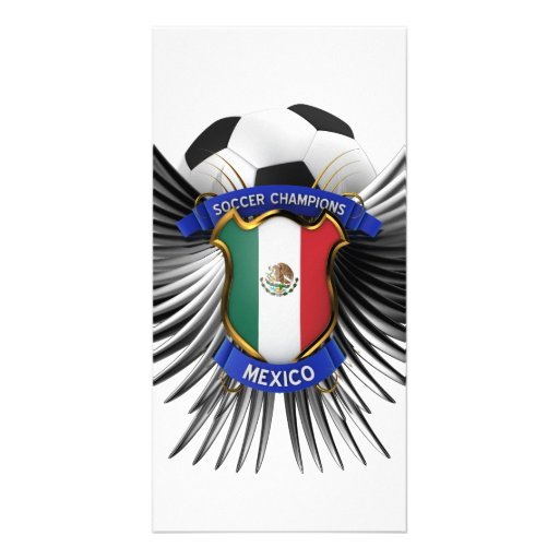 Mexico Soccer Champions Photo Greeting Card