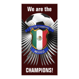 Mexico Soccer Champions Photo Cards