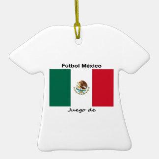 Mexico Soccer Ceramic T-Shirt Decoration