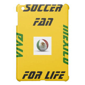 Mexico Soccer Fan For life iPad Case