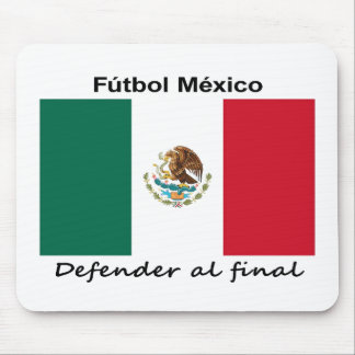 Mexico Soccer Mouse Pad
