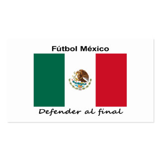Mexico Soccer Pack Of Standard Business Cards