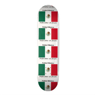 Mexico Soccer Skate Board Decks