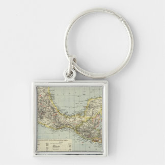 Mexico South, Central America Key Ring