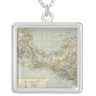 Mexico South, Central America Silver Plated Necklace