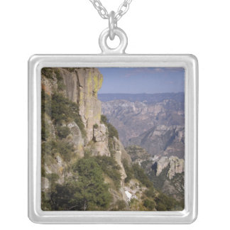 Mexico, State of Chihuahua, Copper Canyon. THIS 2 Silver Plated Necklace