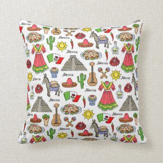 Mexico | Symbols Pattern Cushion