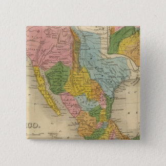 Mexico, Texas 15 Cm Square Badge