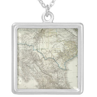 Mexico, Texas, Californien, C America Silver Plated Necklace