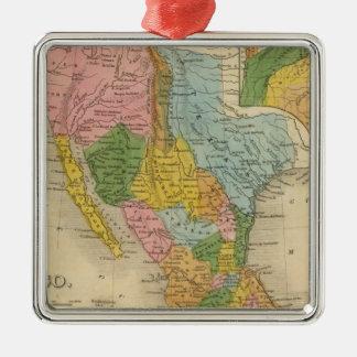 Mexico, Texas Christmas Ornament